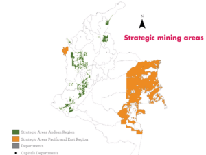 strategic mining areas colombia