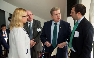 Biz Latin Hub Meets Irish Trade Minister at International Trade Event in Mexico City