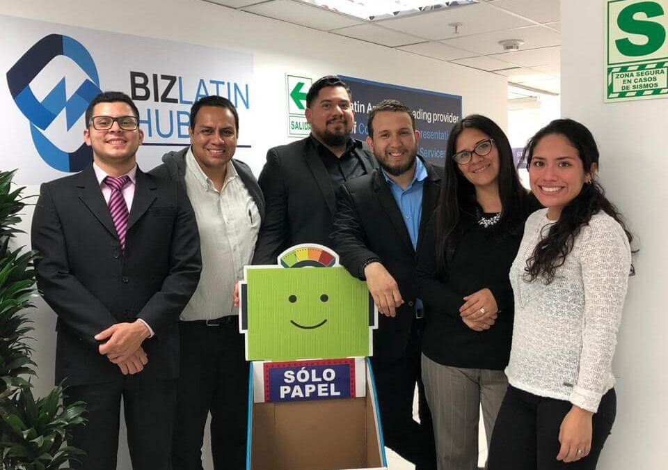 Biz Latin Hub Peru Joins Recycling Campaign with Aldeas Infantiles SOS