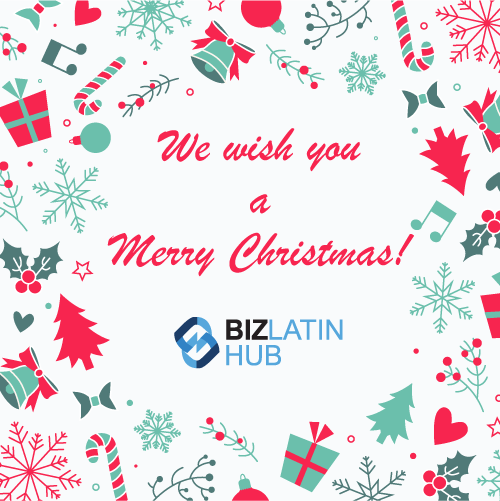 Happy Christmas from Team Biz Latin Hub